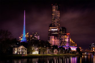 melbourn-skyline-southbank-cityscape-night