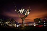 cow-tree-docklands-night-art