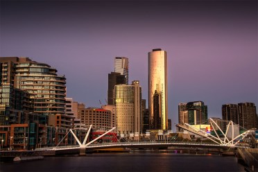 melbourne-yarrariver-twilight-seafarers-bridge