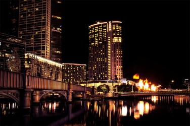 sandridgebridge-gasfires-crown-melbourne-night