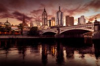 cityscape-melbourne-skyline-dawn-sunrise