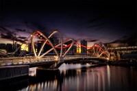 seafarers-bridge-sunrise-melbourne-yarra