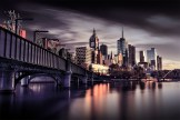 sandridge-bridge-city-melbourne-urbanlandscape