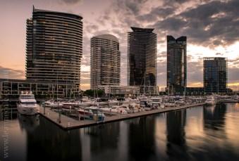 melbourne-yarrariver-sunset-night-docklands-0739