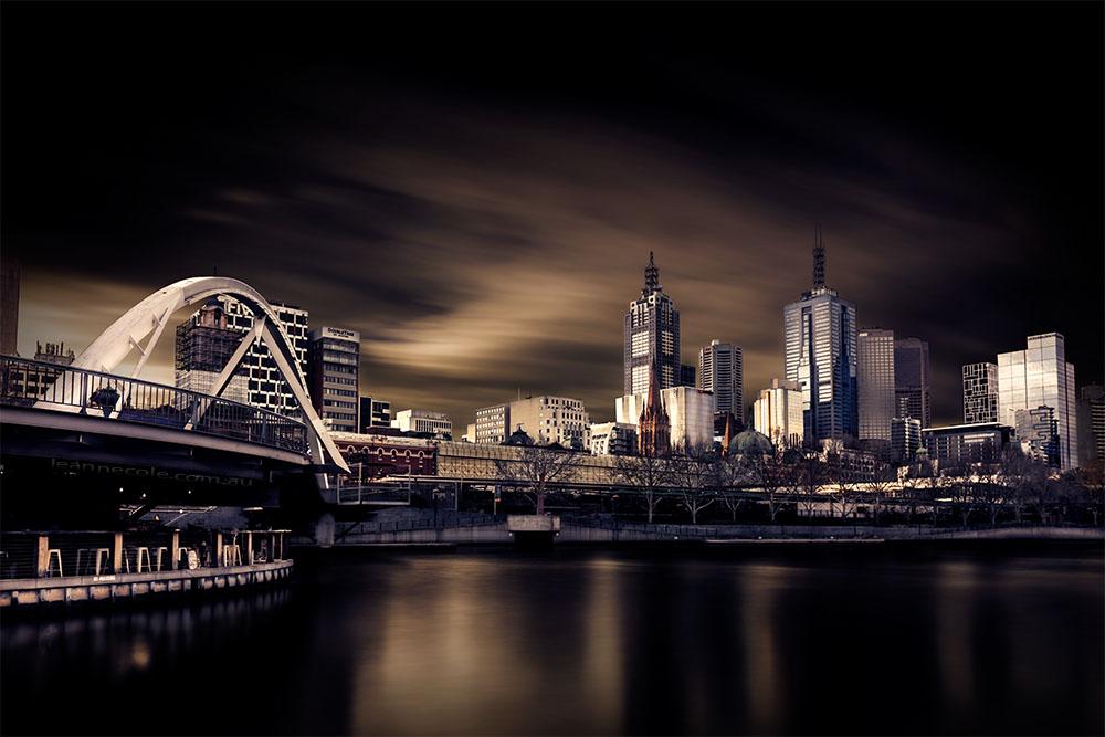 city-bridge-ponyisland-longexposure-melbourne
