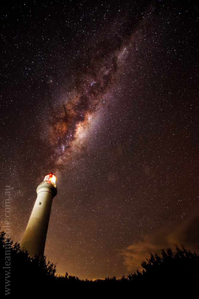 Spit Point Lighthouse, Aireys Inlet - Learning about long exposure photography