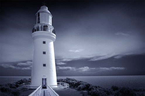 cape-otway-lighthouse-d850-monochrome