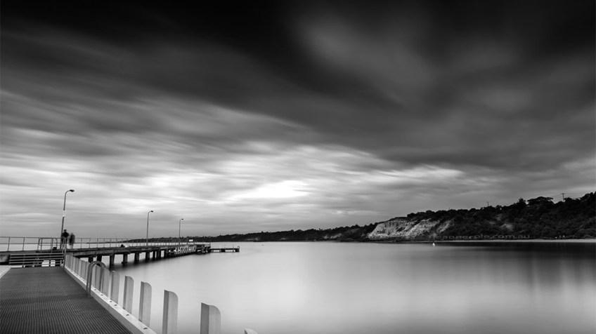 half-moon-bay-long-exposure-monochrome