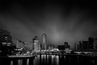 city-skyline-melbourne-longexposure-monochrome