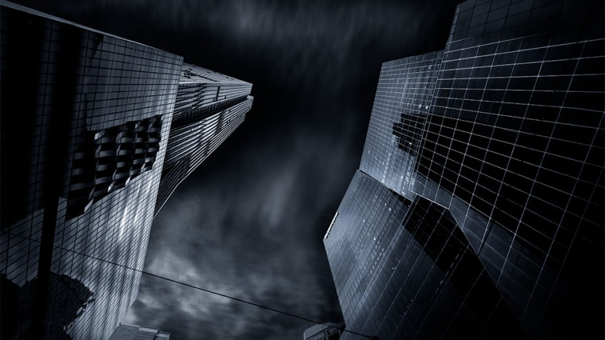 collins-street-long-exposure-fujifilm-monochrome