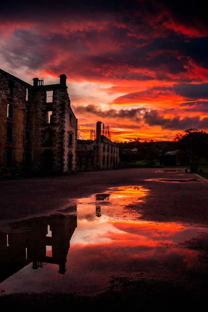 leannecole-port-arthur-tasmania-sunset-
