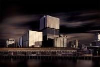 southwharf-melbourne-yarrariver-longexposure