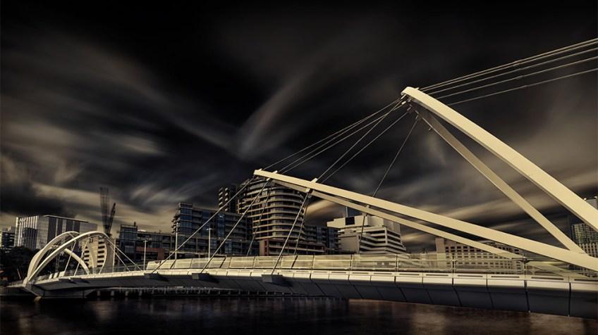 seafarers-bridge-clouds-longexposure-melbourne