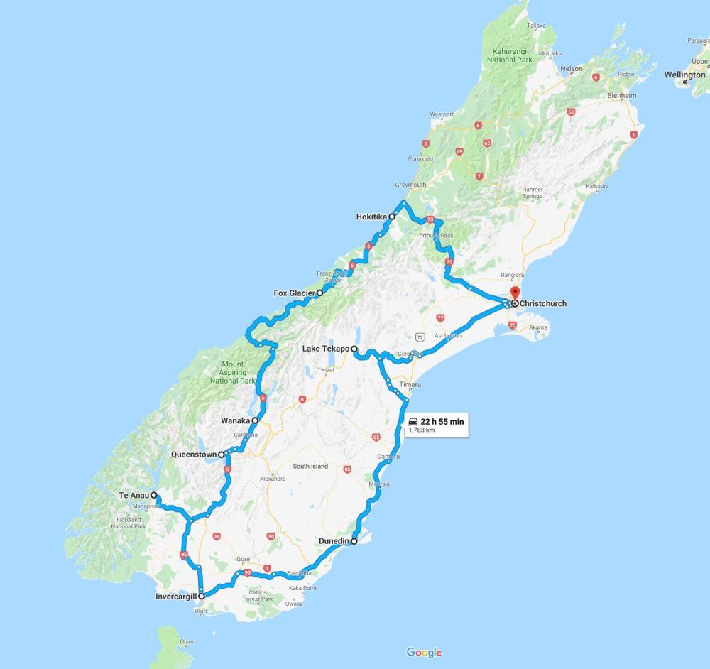 new-zealand-map-travel