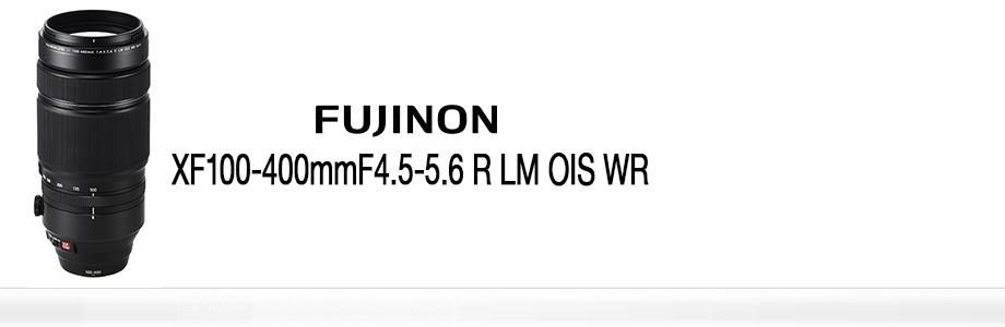Fujifilm 100-400mm Lens