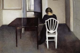 Influencing Me - Vilhelm Hammershøi