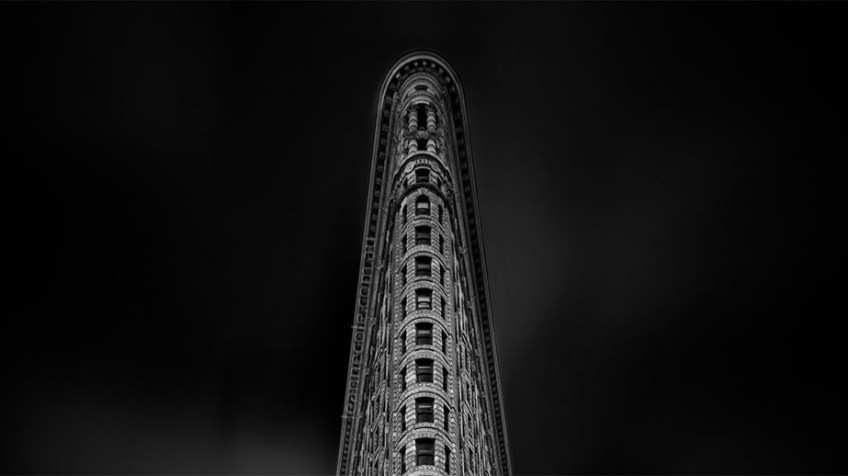 Monochrome Wednesday - Flatiron in New York