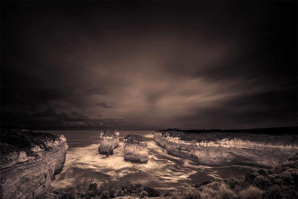 Monochrome Wednesday - Loch Ard Gorge