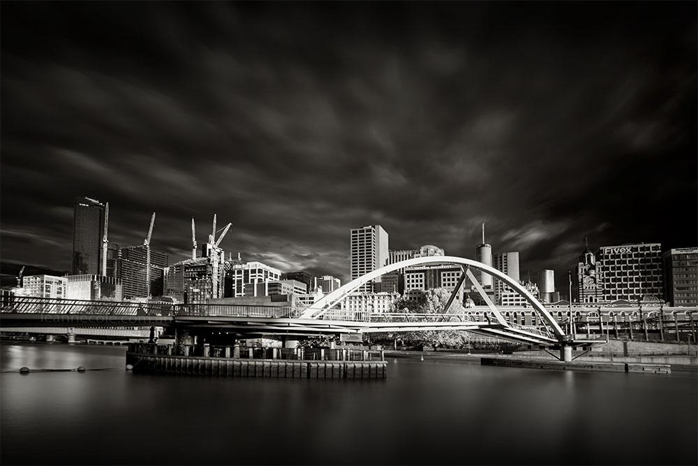 Monochrome Wednesday - Sunrise in the City