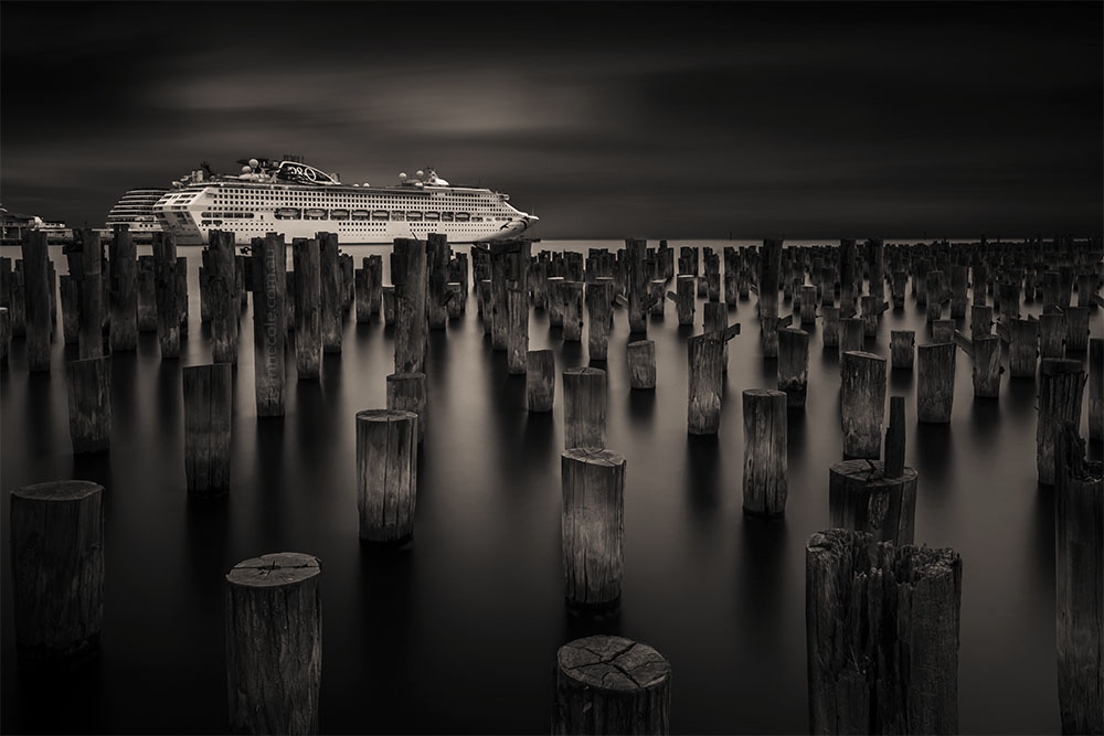 Monochrome Wednesday - Princes Pier again