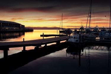 sunrise-hobart-boats-harbour-boats-river