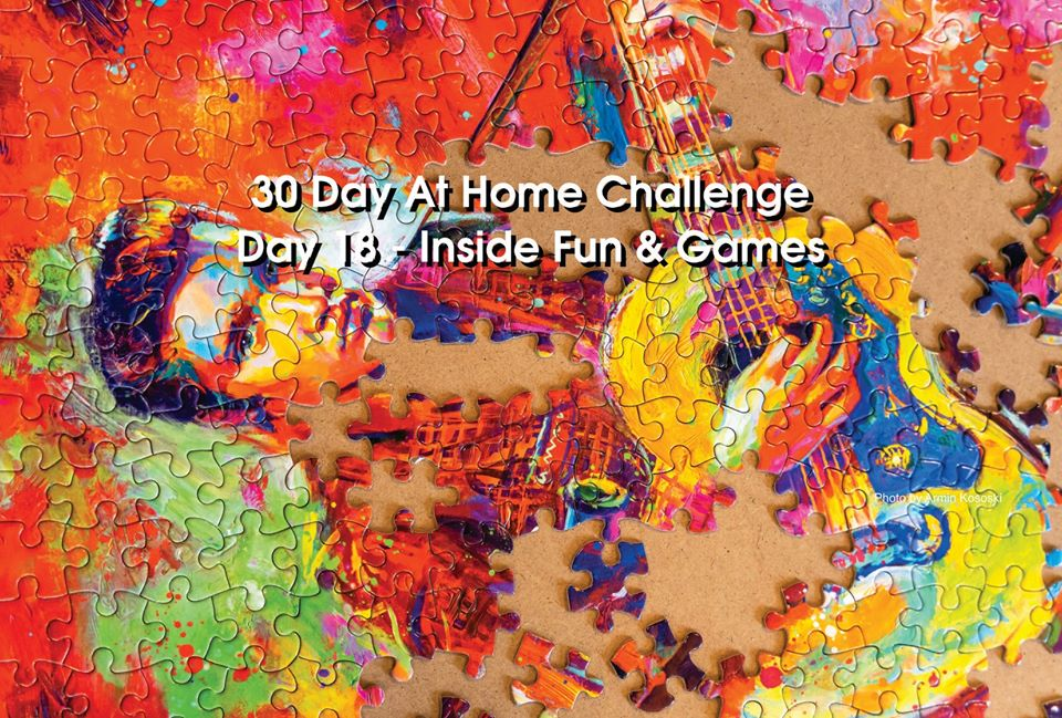 Day 18 – 30 Day at Home Challenge