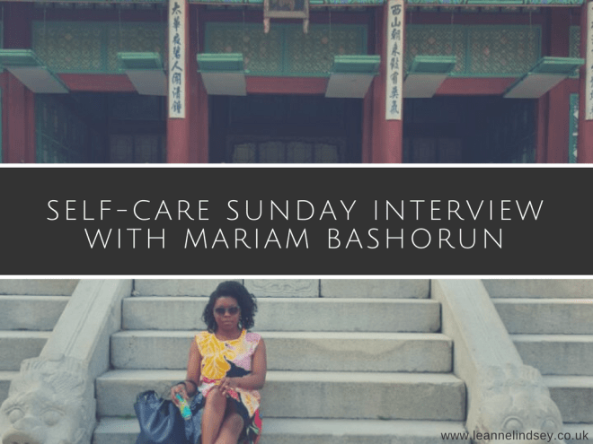 Self-Care-Sunday-Interview-Mariam-Bashorun-Leanne-Lindsey-image-header
