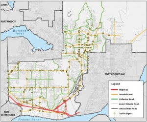 city of coquitlam road classification