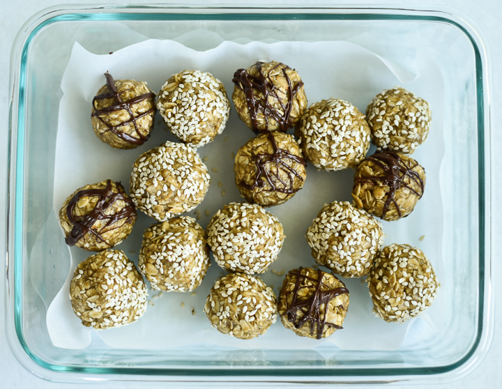 meal prep healthy snack balls