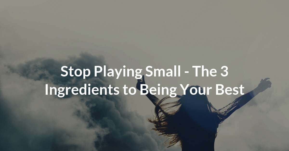 There are 3 ingredients to being your best, and while they may seem simple, the reality is that consistently practicing these 3 actions is too challenging for most people.