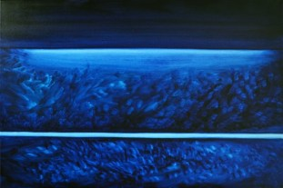 FROM THE DEPTHS OF TRANQUILITY 24X36