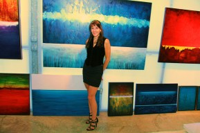 Leanne in Gallery w Luminous Tranquility