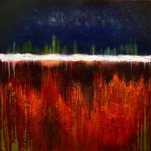 THE ALCHEMIST'S VESSEL 48X48 2009