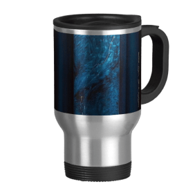 Teal travel mug