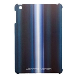 Ipad_case_-_Teal_vertical_white_stripe