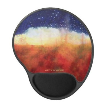 Healing Colors Mousepad in red, orange, blue