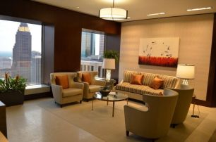 """Passions Flurry"" in EIG Houston Lobby"