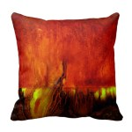 Pillow_-_Vibrant_RED_-_2_sided