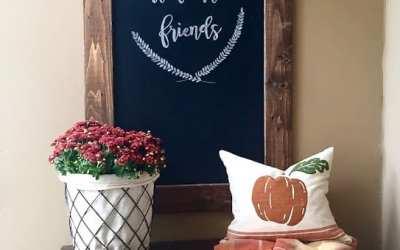 How to create pretty chalkboard lettering