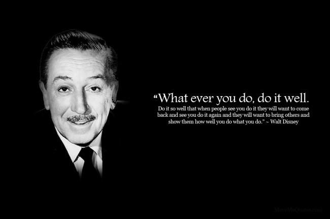 Walt Disney and Lean Thinking