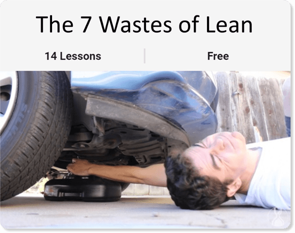 The 7 Wastes of Lean Course