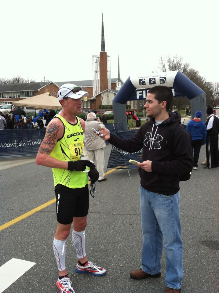 LEAP-Coaching Marathon Runner Nick Whited from West Virginia