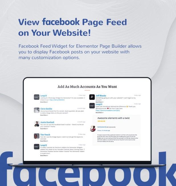 3 facebook feed