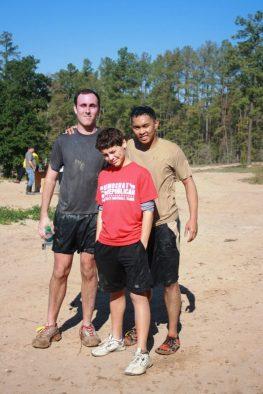 Ryan with Cameron Goodman and Christian Bionat