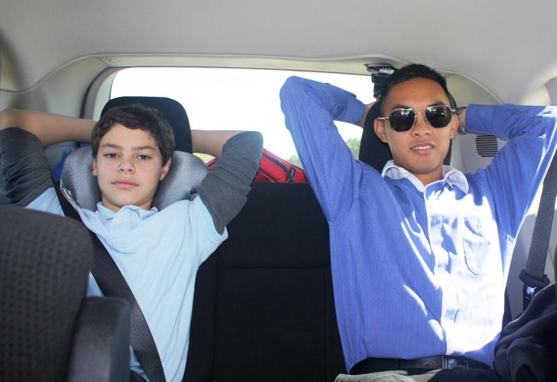 Ryan and Christian
