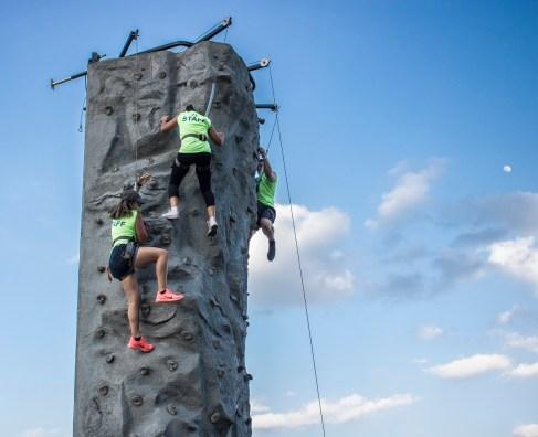 City of Huntsville, Parks and Recreation, July 4th, LEAP Ambassadors, SHSU, LEAP Center, Rock Climbing