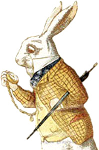 Illustration of the March Hare by John Tenniel