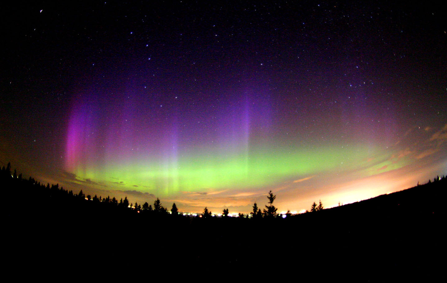 Northern Lights Lanterns