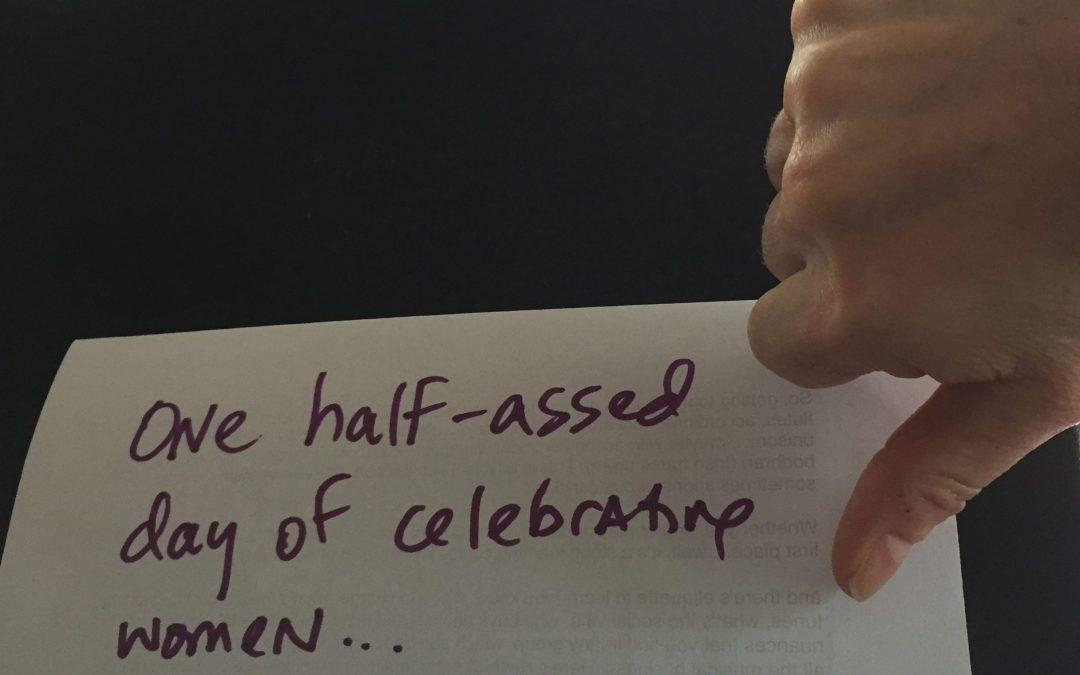 International Women's Day is a Sham