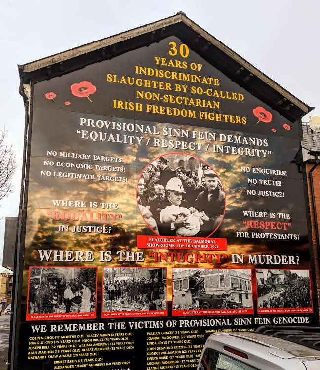 The Troubles In West Belfast Remembering And Forgetting Leap Of